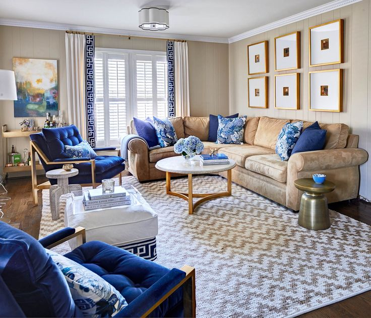Living Room Interior Design Charlotte NC