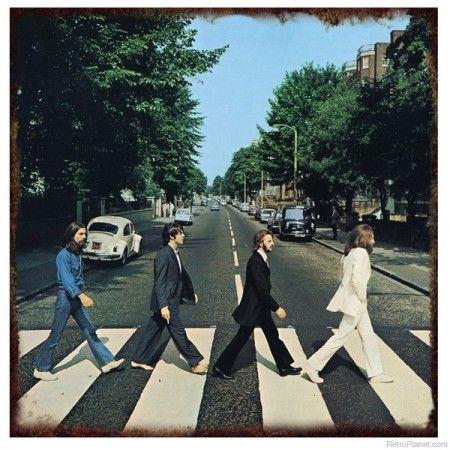 History of the Abbey Road album cover:  http://www.retroplanet.com/blog/retro-memories/history-making-abbey-road-album-cover/