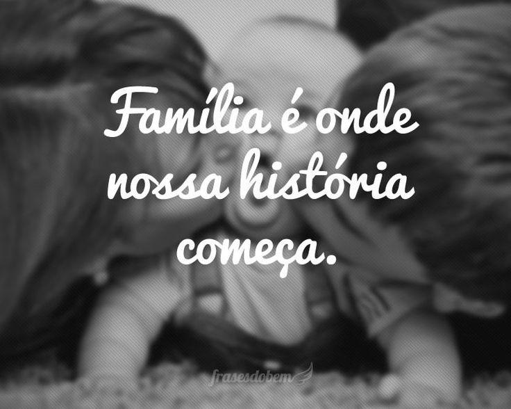 Frases de Família no Frases do Bem. Encontre dezenas de Frases de Família com imagens para copiar e compartilhar.