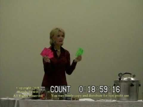 Wendy Dewitt Food Storage Seminar Part 3 Of 9 Worst Case