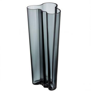 Iittala Aalto vase, 255 mm, dark grey