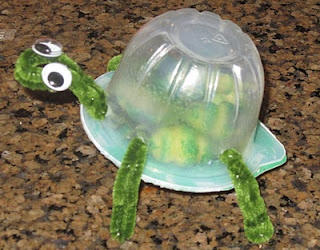 Use Recycled Materials To Create A Turtle Shaker