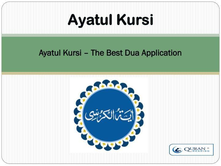 Ayatul Kursi is an application which brings full Ayatul Kursi, its audio recitation in MP3, translation and transliteration.