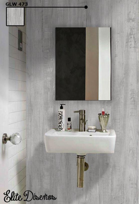 Queremos terminar la semana enseñándote como deshacerte de los azulejos de tu baño, sin necesidad de grandes obras. Con los #revestimientos #autoadhesivos #Infeel podrás conseguir rápidamente el acabado que deseas, eligiendo entre los espectaculares patrones de nuestro catálogo. En este caso, hemos aplicado un acabado de madera envejecida con el patrón GLW 473 de nuestra serie Luxury & Wood. ¡Feliz fin de semana! #EliteDiseños