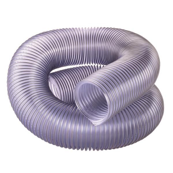"Buy 4"" Diameter Clear Dust Collection Hose at Woodcraft.com"