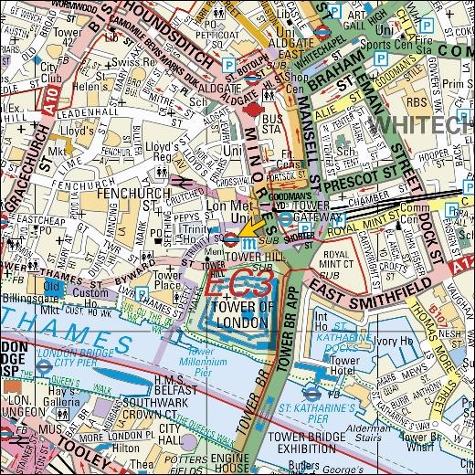 61 Best Whitechapel London Images On Pinterest History: Whitechapel London Map At Infoasik.co
