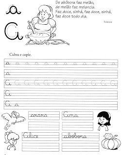 57 ATIVIDADES DE CALIGRAFIA - TREINO DA CALIGRAFIA    Cantinho do Educador Infantil
