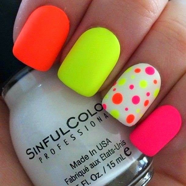 trendy nail Art ideas for summer 2015