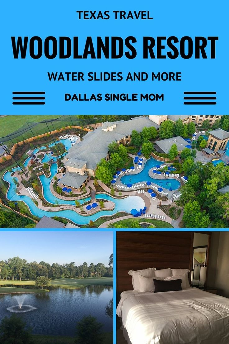Texas Travel: Water Slides and more at the Woodlands Resort