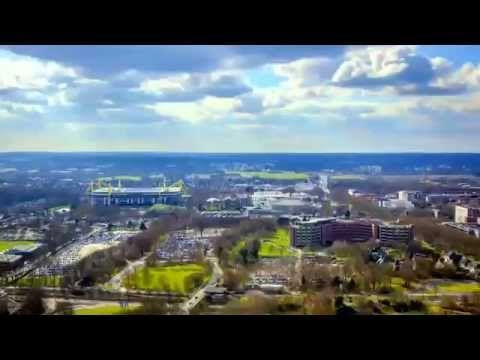 Borussia Dortmund gegen Bayern München - Fanwanderung von Oben [Terra X] - YouTube