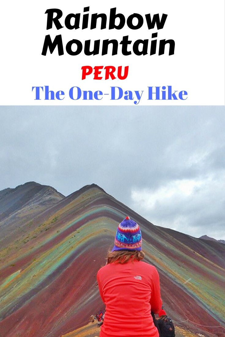 One-day hike to the Rainbow Mountain in Peru! Check out my tips and advice!