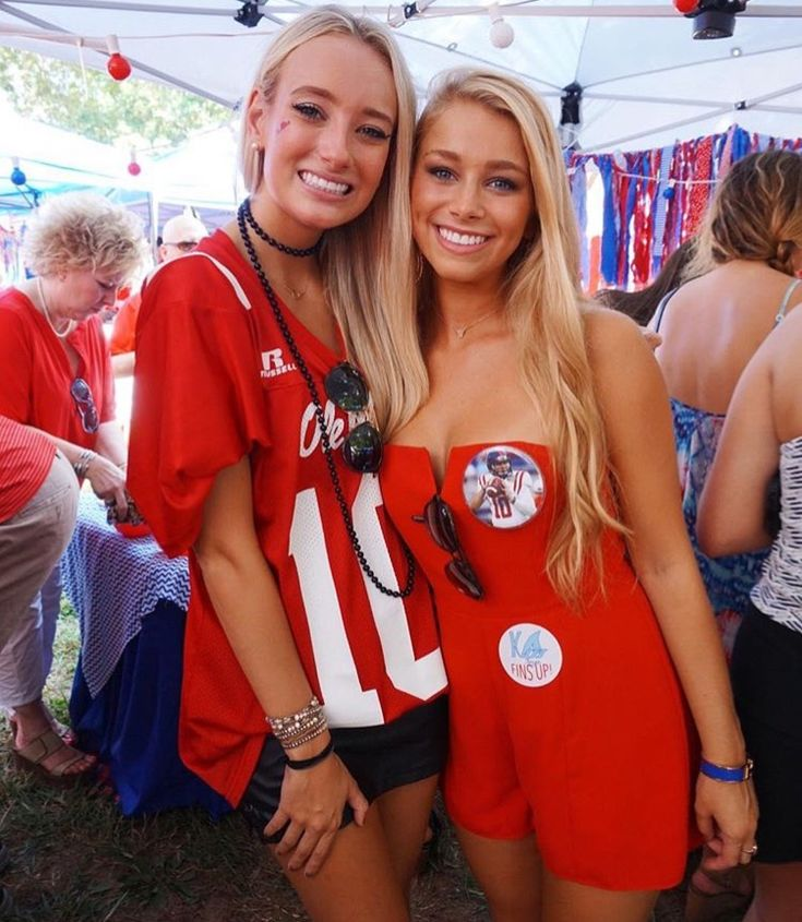 Ole Miss sisters! #oxfordoutfit