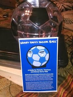 Ramblings Of A Redhead: Money Savvy Soccer Ball Bank Review and Giveaway