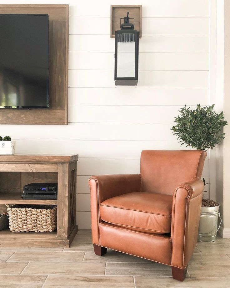 Wide Shiplap Accent Wall Behind Tv Accent Shiplap Shiplap Tv