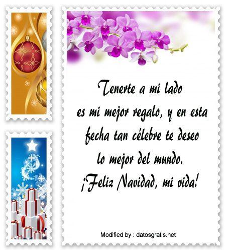 Pin De Frasesmuybonitas Net En Mensajes De Navidad Para Mi Amor Love