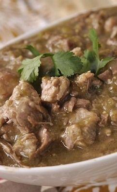 Slow Cooker Pork Chili Verde | Recipe - Click the image to view #delicious pork recipes