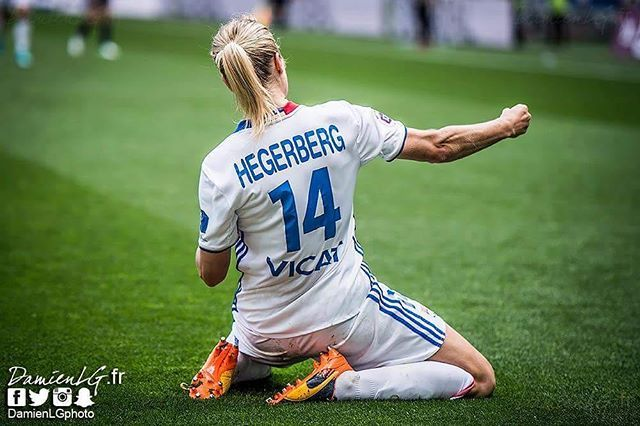 """5,396 Likes, 27 Comments - Ada Stolsmo Hegerberg (@ahegerberg) on Instagram: """"Greatest team in France, heading for the greatest team in Europe. #rougeetbleu"""""""