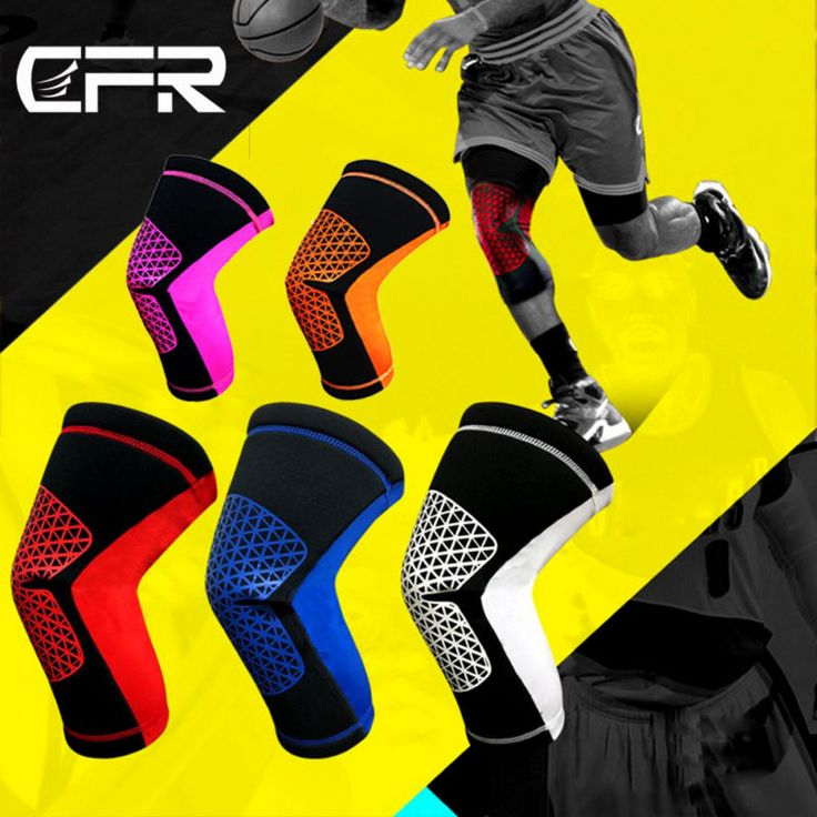 Sports Leg Knee Compression Sleeve Support Running Fitness Gym Joint Pain Relief