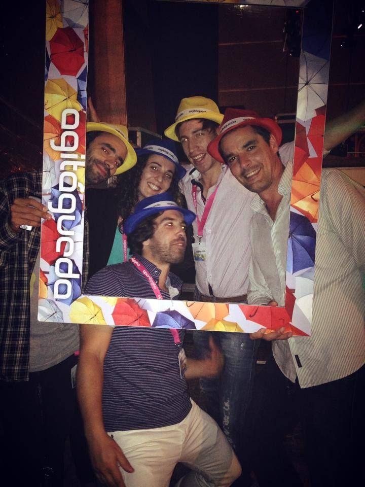 A happy team :)* #Agitagueda2014 #streets #art #style #Agueda