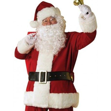 Costume Pere Noel Luxe Santa Claus Adulte deguisement noel