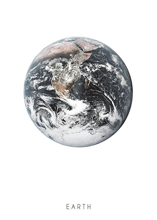 Earth poster, Desenio