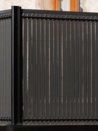 Kit occultation en pvc gris anthracite ht 1m53 x 2m00 jardin pinterest - Latte pvc pour portail ...