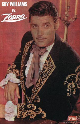 Guy Williams, El Zorro... Genio! - Guy Williams (Nueva York, 14 de enero de 1924 - Buenos Aires, aprox. 1 de mayo de 1989) fue un actor de cine estadounidense que personificó héroes de capa y espada en las décadas de 1950 y 1960. Su verdadero nombre era Armando Catalano. http://es.wikipedia.org/wiki/Guy_Williams - Fotolog