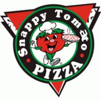 Snappy Tomato Pizza Logo. Get this logo in Vector format from http://logovectors.net/snappy-tomato-pizza/