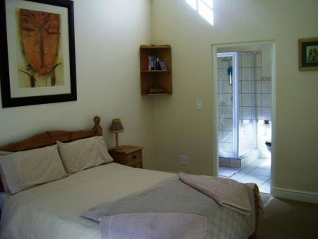 Self catering accommodation, Noprdhoek, Cape Town, South Africa  Main Bedroom ensuite