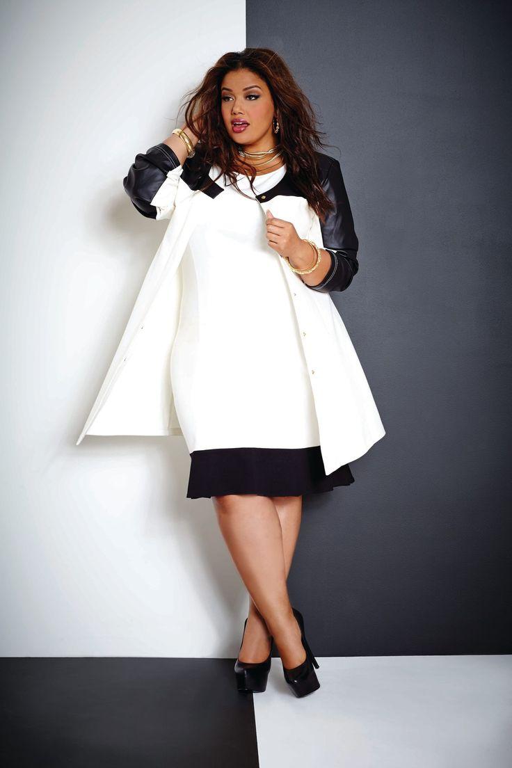 Plus size fashion...Ashley Stewart