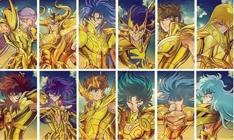 Os 12 Cavaleiros de Ouro