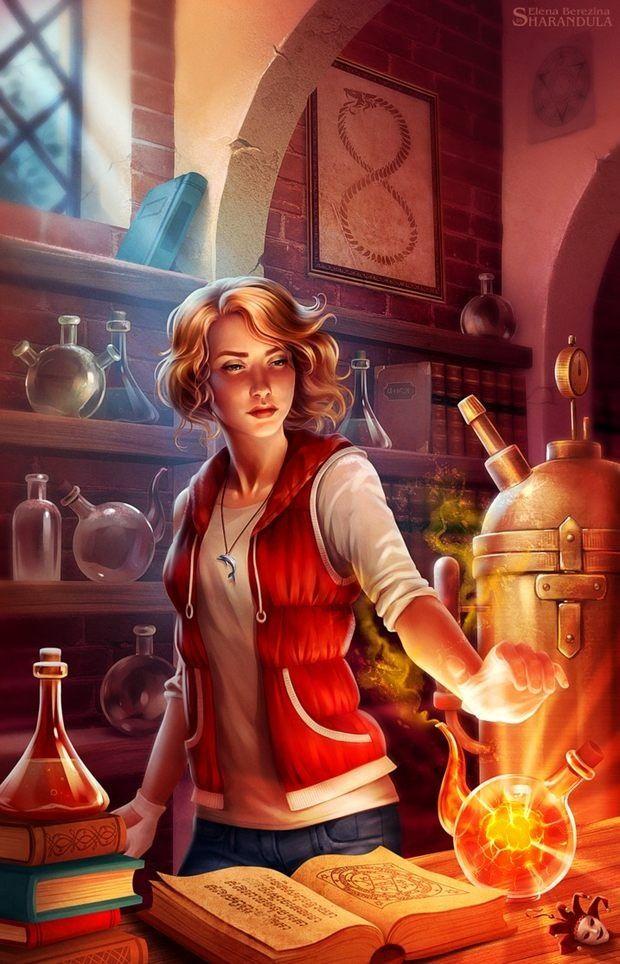 Jenny Dalfin 5 by Elena Berezina (sharandula)