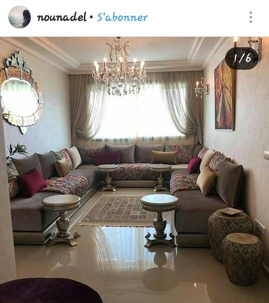 N. Somaya | salon marocain en 2019 | Salon marocain ...