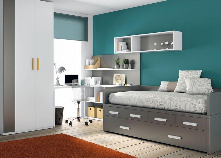 Las habitaciones juveniles de muebles ros dormitorios y for Muebles para habitaciones juveniles