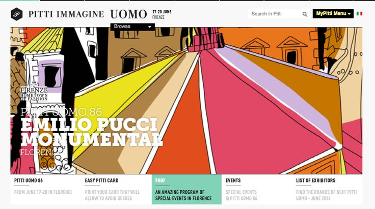 "Firenze- Hometown of Fashion Emilio Pucci Exclusive ART Installation entitled ""Monumental Pucci""  (with the City of Florence and Ministry for Economic Development and the Italian Trade Agency).  ""Monumental Pucci"" involves ""styling"" the famed Florence Baptistery with the ""Battistero"" scarf print designed by the Marquise  Pucci. The apse side will be clad in the original ""Battistero"" print, while the  rest of the octagonal building with 2,000 sq mt of printehd canvas.  Hashtag…"