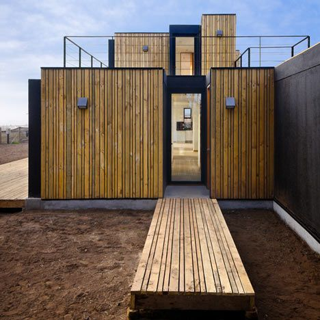 In Just 10 Short Days The Sip Panel House Was Constructed In Santo Domingo Chile Designed By Architects Alejandro Soffia And Gabriel Rudolphy And Using