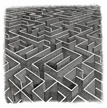 Spesso perdo il filo... fortuna che non sono mai in un labirinto! Arianna, figlia di Minosse, diede a Teseo un filo per orientarsi nel labirinto creato da Dedalo - Immagine © Jerry Hoare/Illustration Works/Corbis