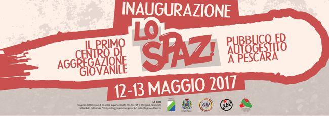 A Pescara apre Lo Spaz: il primo centro di aggregazione per giovani