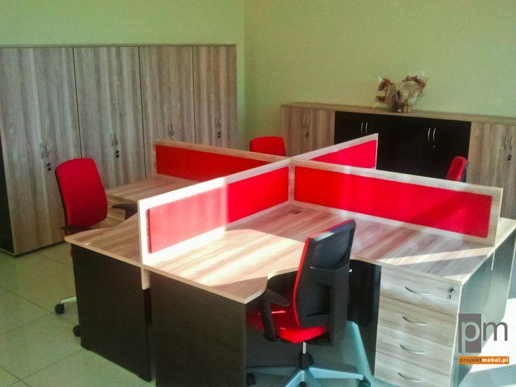 Meble biurowe w firmie Pamas http://www.projektmebel.pl/realizacje