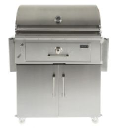 Coyote Charcoal Hybrid Grill with Premium stainless steel C1CH36 at appliancesconnection.com. Coyote's new 36-inch charcoal grill features an adjustable fuel tray. The tray rests on a drawer that pulls out for easy access to the charcoal. You can cook with charcoal or wood chips. #grills #grillgoals #handwelded #musthave