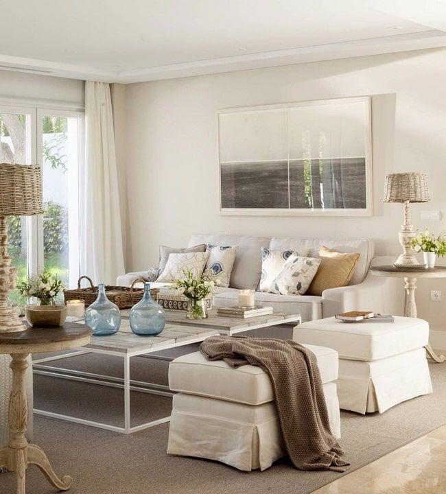10 Colores Que Combinan Con El Beige Decoracion En Color Beige 2020 En 2020 Decoracion Sofa Blanco Muebles Salon Blanco Salones Calidos
