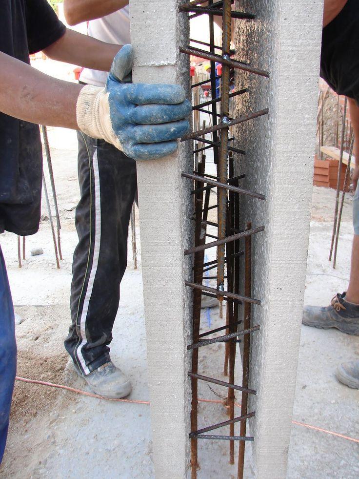 Muros de contención de hormigón semi-prefabricados. |