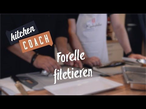Forelle filetieren Kitchencoach - YouTube