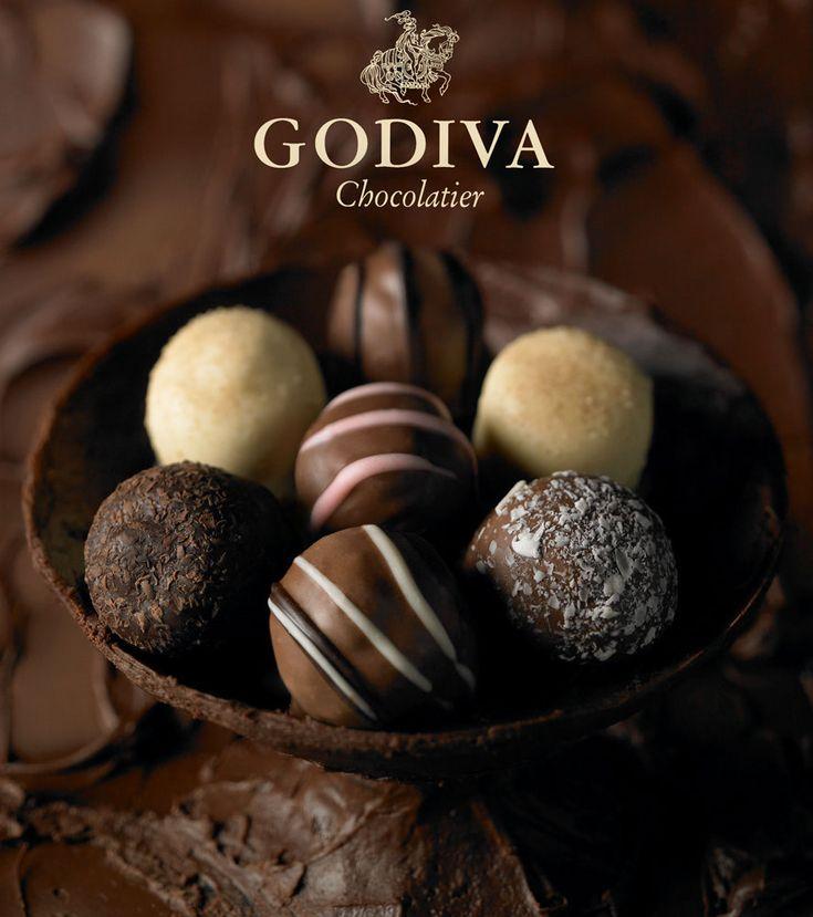 Godiva Truffles..
