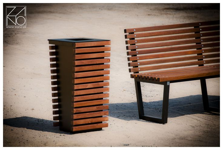 ZANO litter bin | ZANO Street Furniture