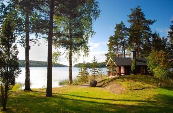 Коттеджи в финляндии купить на берегу озера сан марко хотел дубай