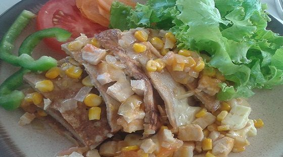 Receita Rápida de Panquecas de Frango! Uma receita fácil, saudável, magra e uma delícia.Conheça o passo a passo AQUI: www.magrasaudavel.net