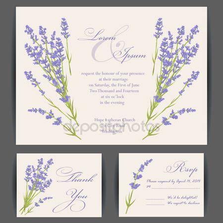 Svatební pozvánky — Stocková ilustrace #69851977