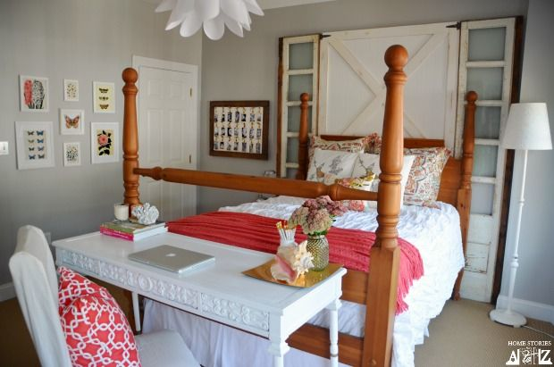 Guest Room Reveal - Home Stories A to Z