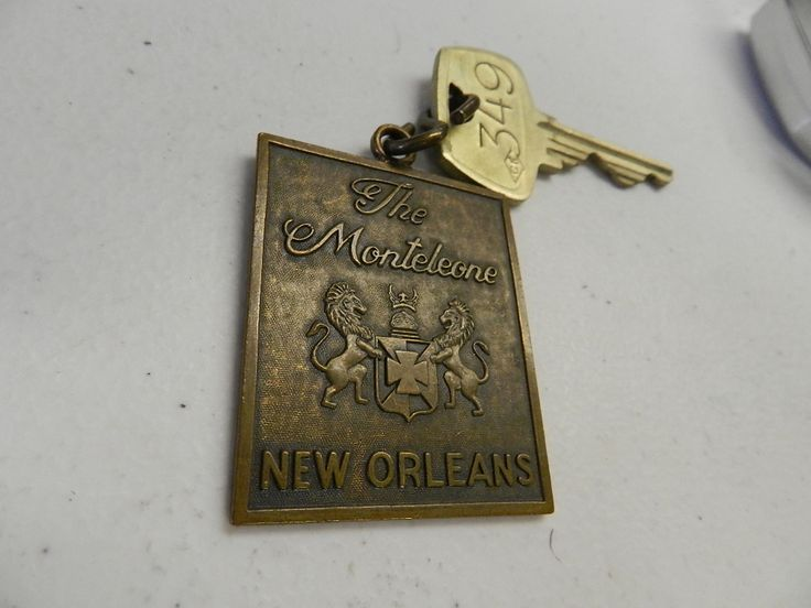 Vintage Hotel Key, New Orleans! Bid here:www.tommywagnerauctions.com